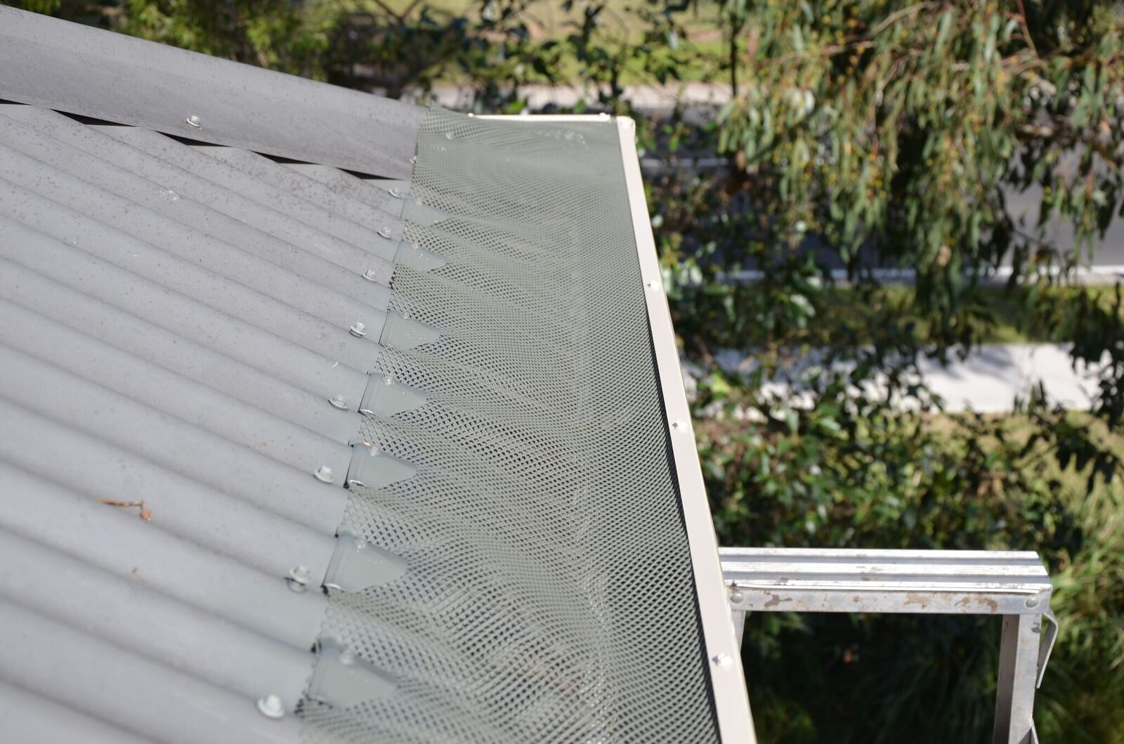 After Gutter protection