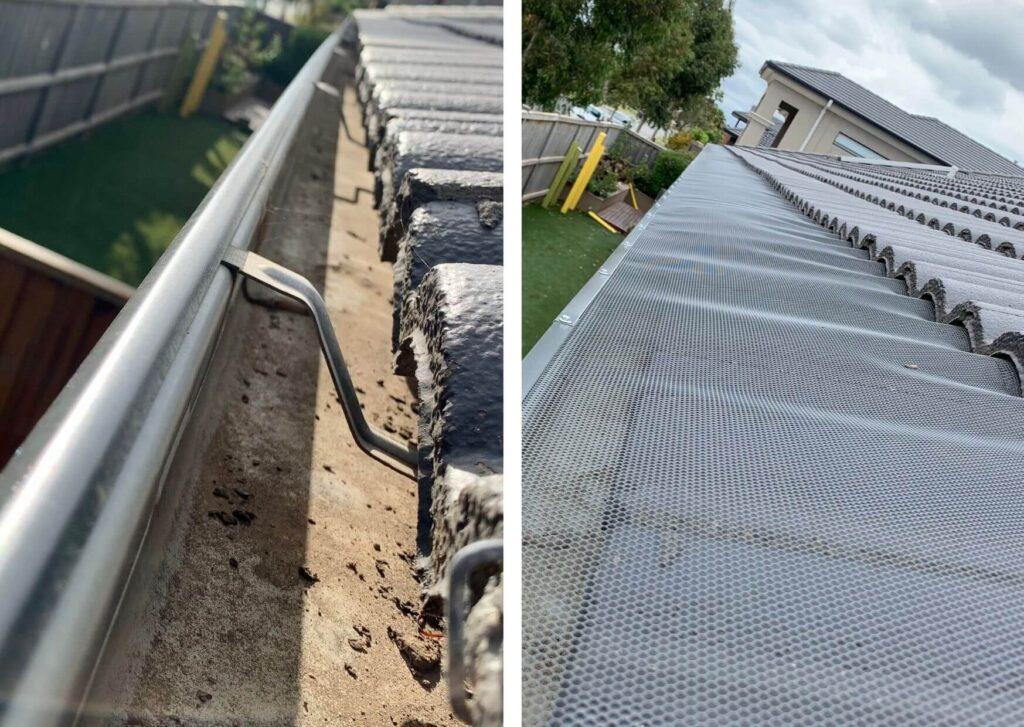 Premium quality gutter guard mesh in Keysborough