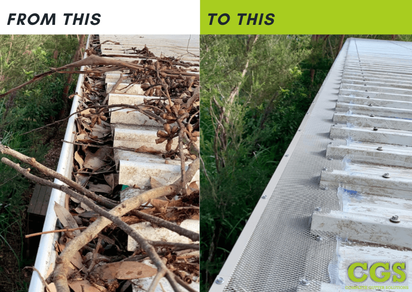 Gutter guard installation and gutter cleaning in Gippsland